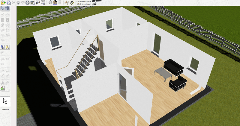 bekannte 3d architektur hausplaner software im test erfahrungen. Black Bedroom Furniture Sets. Home Design Ideas