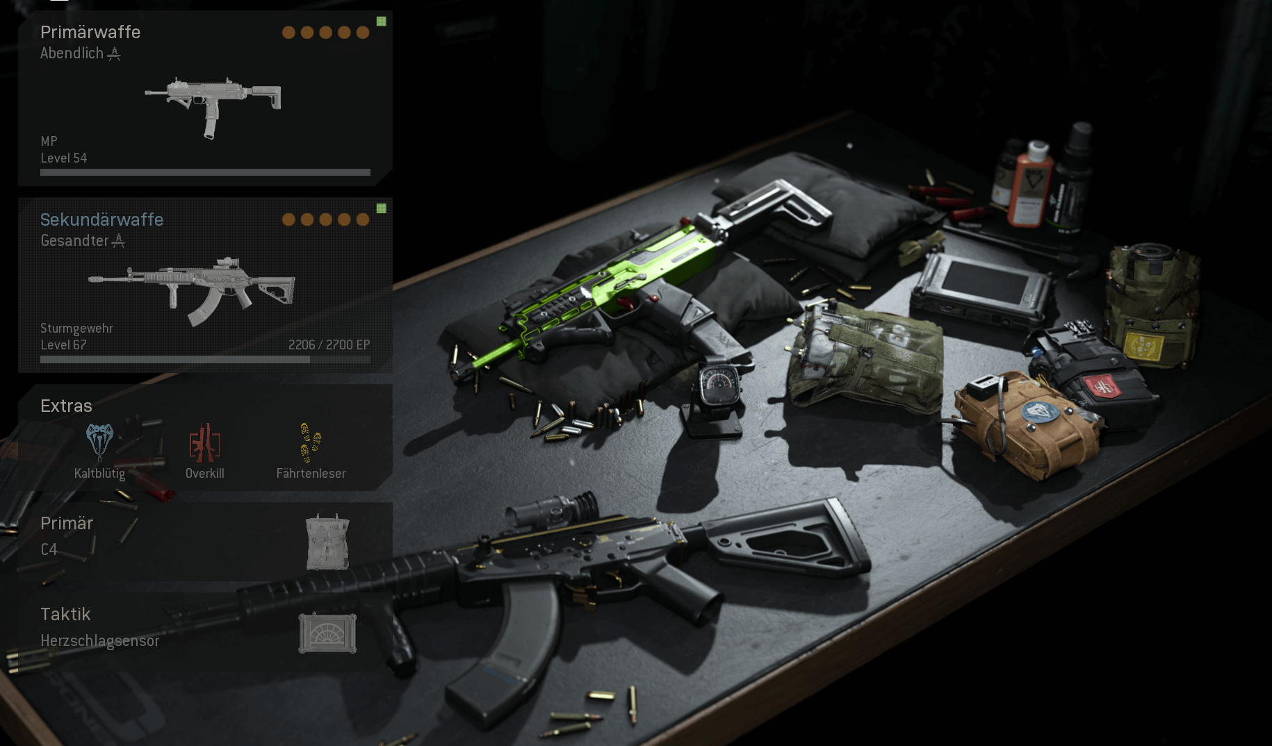 MP7 und AMAX Loadout in COD Warzone