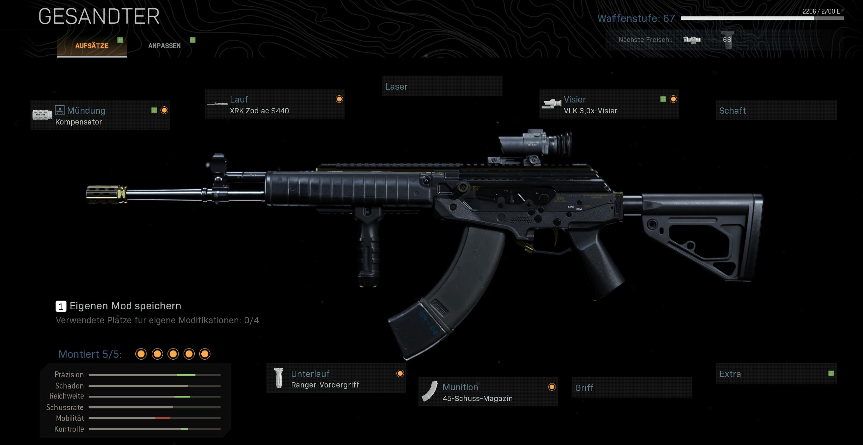 Das beste Waffen Setup für die CR-56-AMAX
