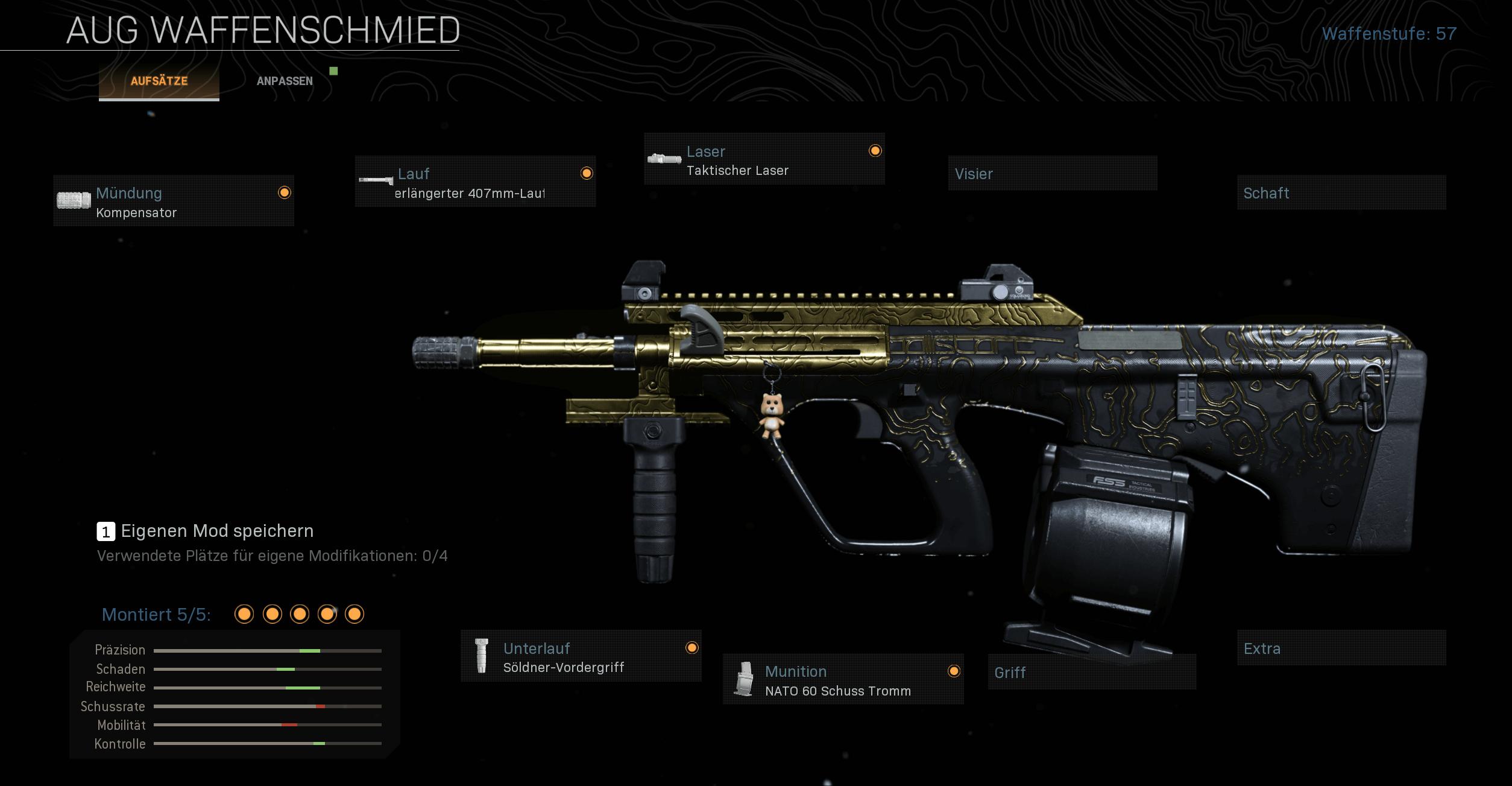 Das beste Waffen Setup der AUG