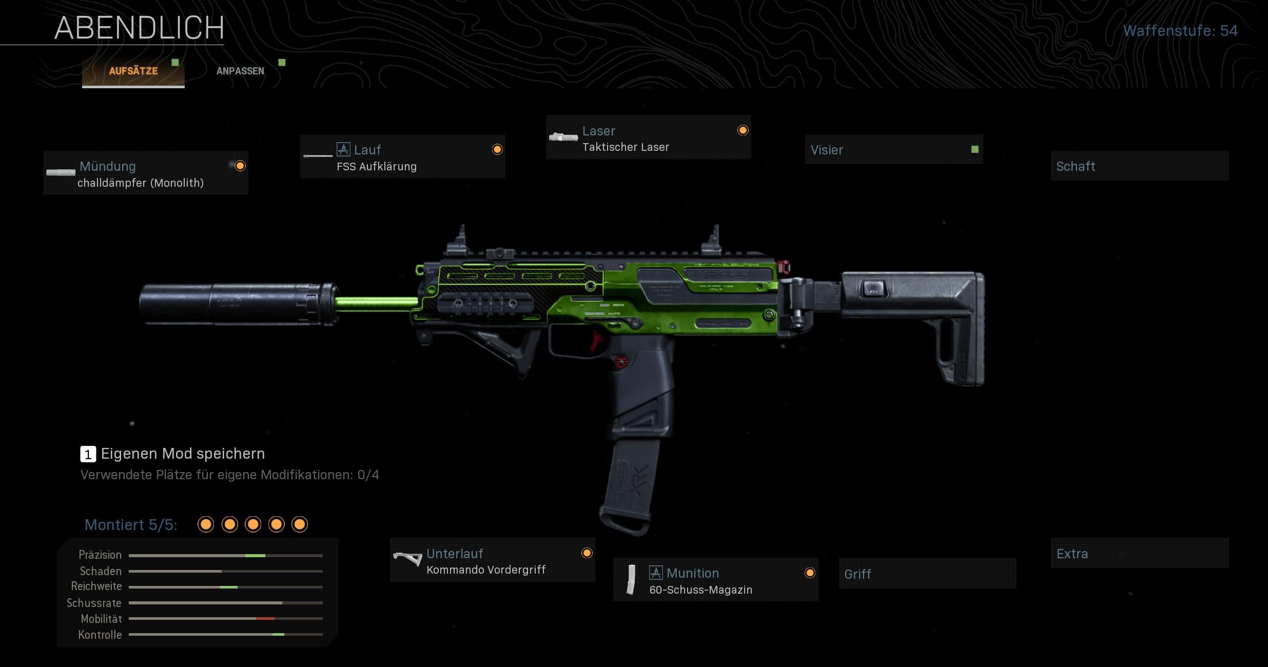 Das beste Setup für die Maschinenpistole MP7 in CoD