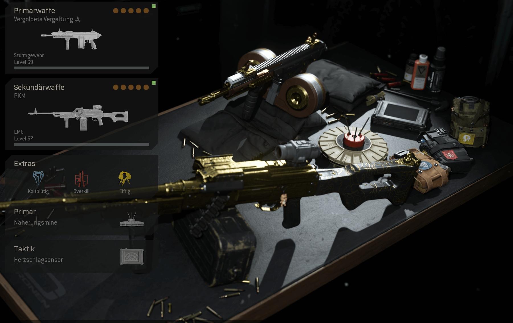 Kilo 141 und PKM Waffen Loadout